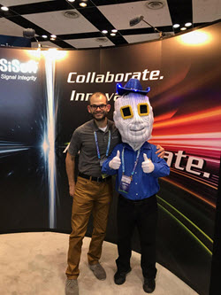 Chiphead Visits the SiSoft Booth at DesignCon